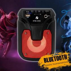 KTS-1210  LEDLİ  BULUTUT SPEAKER USB-TF-FM