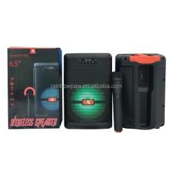KTS-1330-BT MİKROFONLU LEDLİ BLUETOOTH SPEAKER USB-TF-FM