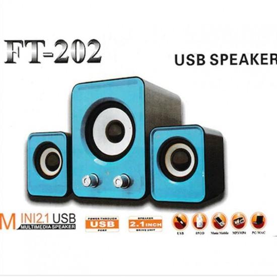 FT-202BT  2.1 PC HOPARLÖRÜ