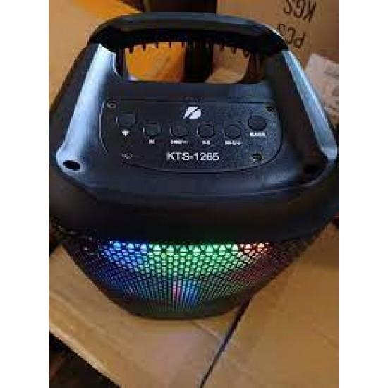 KTS-1099 MİKROFON GİRİŞLİ LEDLİ  BULUTUT SPEAKER USB-TF-FM