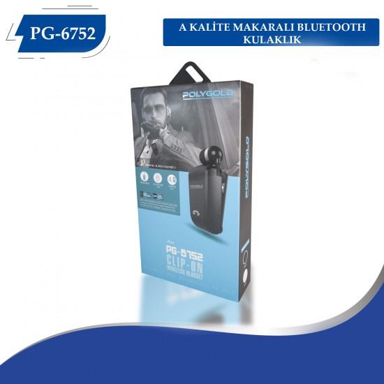 PG-6752 POLYGOLD MAKARALI TİTREŞİMLİ BLT KULAKLIK