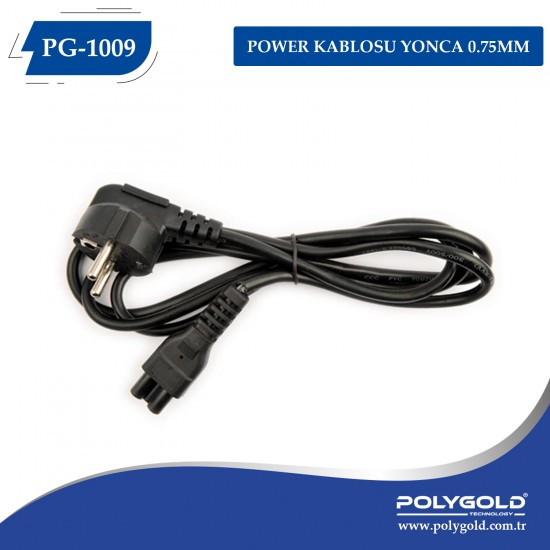 PG-1009 POWER KABLOSU YONCA 0.75MM