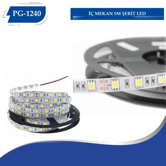 PG-1240 İÇ MEKAN 5M ŞERİT LED