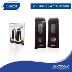 PG-260 1+1 YENİ  MODEL KALİTELİ SPEAKER