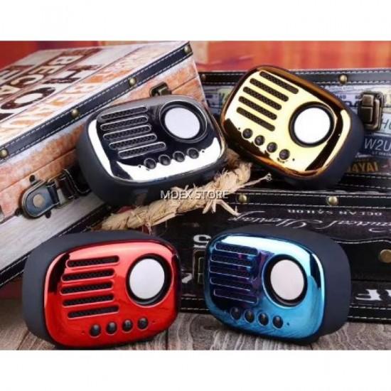 PG-391  A4 NOSTALJİ BLUETOOTH SPEAKER USB-KART-FM