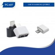 PG-657 USB TO  SAMSUNG ÇEVİRİCİ