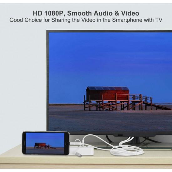 PG-683 3 İN 1 HDMI HER MODELE  OLAN GÖRÜNTÜ AKTARMA KABLOSU