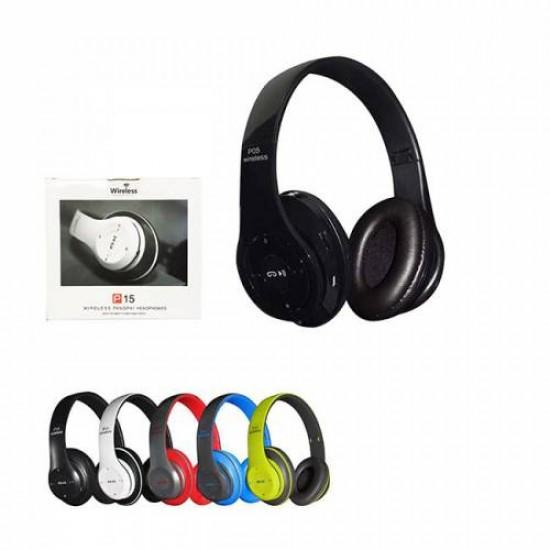 PG-6985 P15 MODELİ BLUETOOTH KULAKLIK MP3-FM