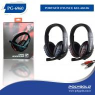 PG-6960 Portatif Oyuncu Kulaklık