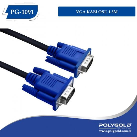 VGA KABLOSU 1.5 M PG-1091