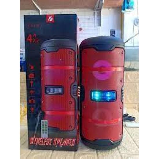 KTS-1181 MİKROFONLU LEDLİ  BULUTUT SPEAKER USB-TF-FM