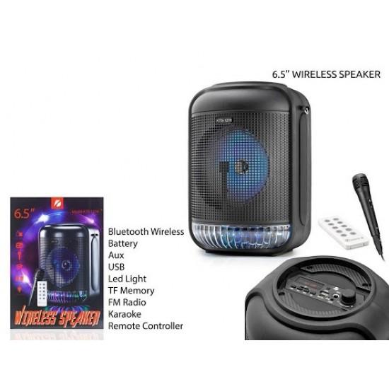 KTS-1278-BT MİKROFONLU LEDLİ  BULUTUT SPEAKER USB-TF-FM