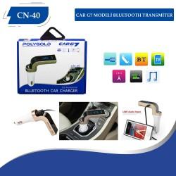 PG-40 Car G7 Modeli Bleutooth  Transmitter