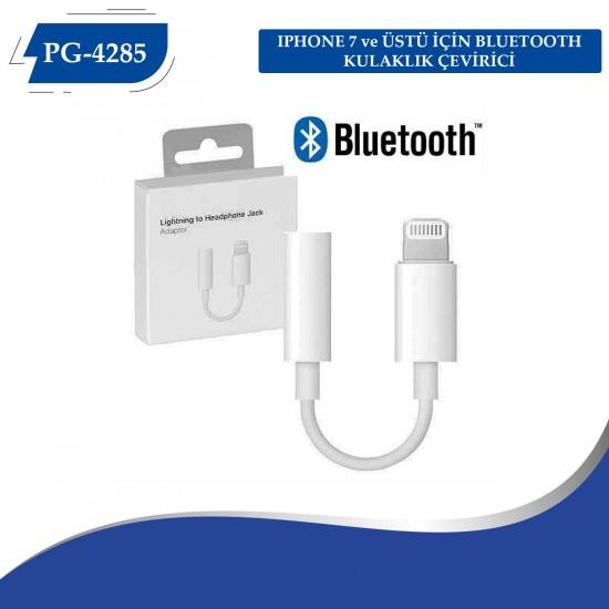 PG-4285 Iphone 7 ve Üstü İçin Bluetooth Kulaklık Çevirici