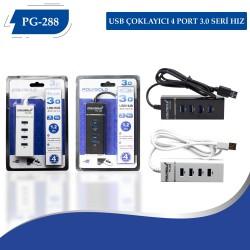 PG-288 3.0 Hız USB Çoklayıcı 4 Port
