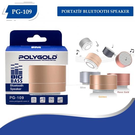 PG-109 Portatif Bluetooth Speaker