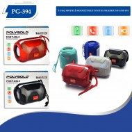 PG-394 ISIKLI MODELİ BLUETOOTH SPEAKER SD-USB-FM