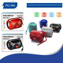 PG-394 ISIKLI MODELİ BLUETOOTH SPEAKER SD-USB-FM