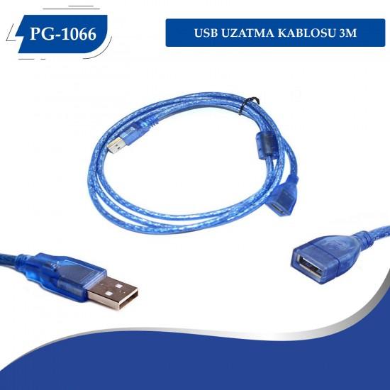PG-1066 USB UZATMA KABLOSU 3M
