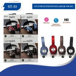 PG-6989 PV33 Bluetooth Kulaklık FM-SD