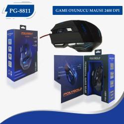 PG-8811 GAME OYUNUCU MAUSE 2400 DPI