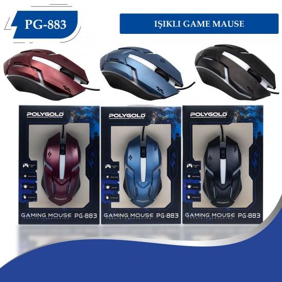 PG-883 Usb Isıklı Game Mouse