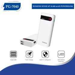 PG-7040 ROMOSS SENSE 4P 10.400 mAH POWERBANK