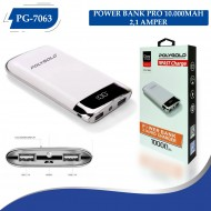 PG-7063 PRO POWER BANK 10000MAH (2,1 QUALTY ŞARZ)