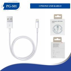 PG-501 Birebir Iphone USB Kablo Kutulu