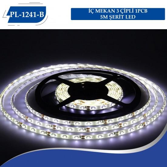 İÇ MEKAN 3 ÇİPLİ 1PCB 5M ŞERİT LED