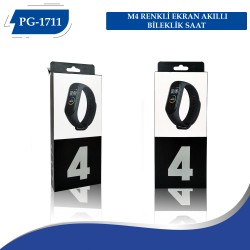 PG-1711 M4 RENKLİ EKRAN AKILLI BİLEKLİK SAAT