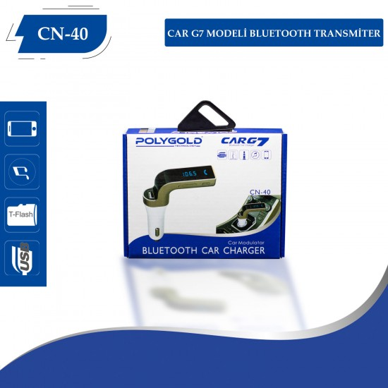 PG-40 Car G7 Modeli Bleutooth  Transmitter