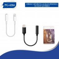 PG-4284 Direk Müzıkte Çalısan Iphone 8 ve üstü çevirici