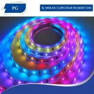 İÇ MEKAN RGB 1 ÇİPLİ 5M ŞERİT LED
