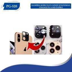 PG-520 ŞOK FİYT KAMERA KORUYUCU LENSİ X/XS/XSMAX CHANGE İ11 AND İ11PRO