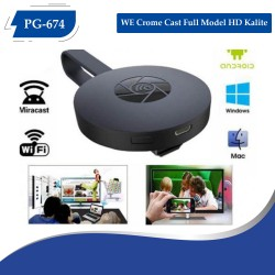 PG-674 WE Crome Cast Full Model HD Kalite