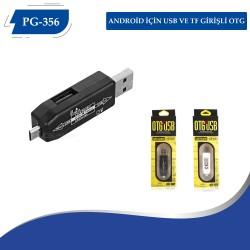 PG-356 Android için USB ve TF Girişli OTG