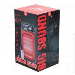 KTS-1101 MİKROFONLU LEDLİ  BULUTUT SPEAKER USB-TF-FM