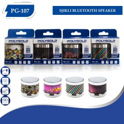 PG-107 Işıklı Bluetooth Speaker