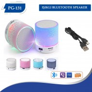 PG-131 Işıklı Bluetooth Speaker
