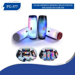 PG-377  TG165 MODELİ MODELİ BLUETOOTH SPEAKER SD-USB-FM