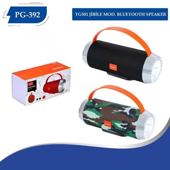 PG-392 TG501 JİBİLE  MOD. BLUETOOTH SPEAKER