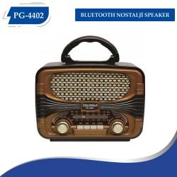 PG-4402 BLUETOOTH NOSTALJİ SPEAKER