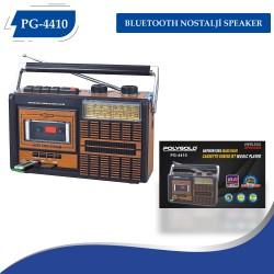 PG-4410 BLUETOOTH NOSTALJİ SPEAKER