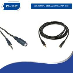 STEREO PG-1102 AUX UZATMA 1.8M
