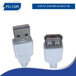 USB TO USB MİN KABLO 1M