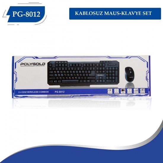 PG-8012 KABLOSUZ MAUS-KLAVYE SET