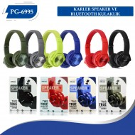 PG-6995 KARLER SPEAKER VE BLUETOOTH  KULAKLIK
