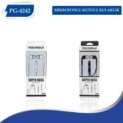 PG-4242 Mikrofonlu Kutulu Kulaklık
