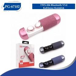 PG-67102 TWS-206 Bluetooth V5.0 Kablosuz Kulaklık